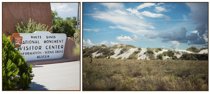 White Sands New Mexico Visitor Center