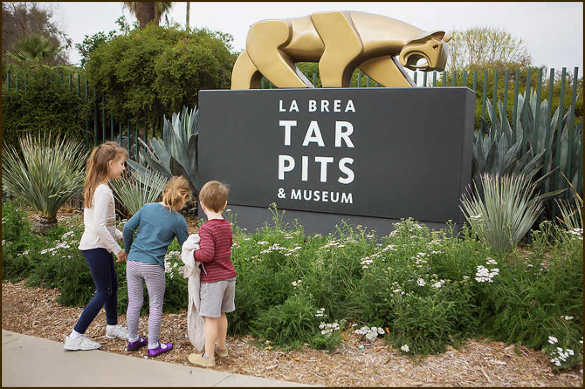 La Brea Tar Pits-Sign
